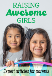 raising awesome girls side rail