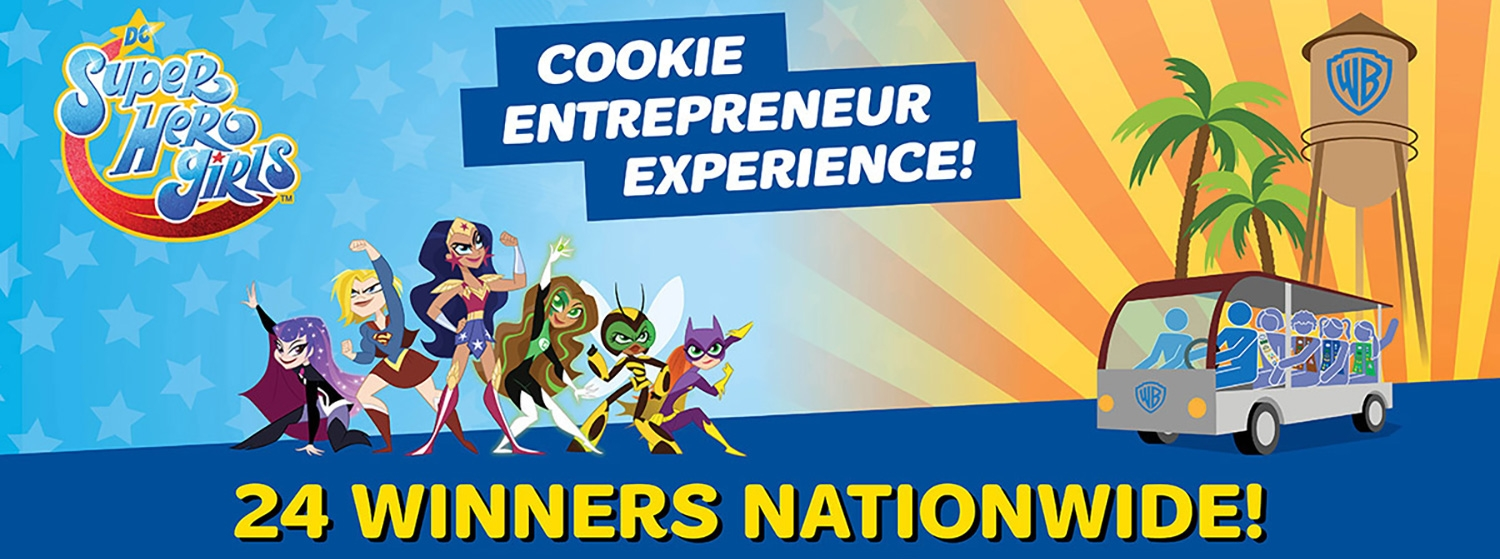2018 girl scout cookie prizes indiana